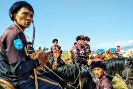Mongolia - Buzkashi