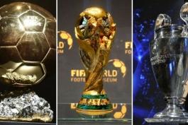قهرمانی جام جهانی-قهرمانی لیگ قهرمانان اروپا-توپ طلا