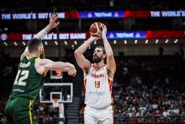 بسکتبال-جام جهانی بسکتبال-استرالیا-اسپانیا-Basketball-FIBA World Cup