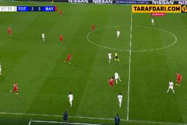 گل دوم روبرت لواندوفسکی به تاتنهام (تاتنهام 2-6 بایرن مونیخ)