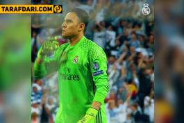 دانلود؛ تبریک تولد کیلور ناواس توسط باشگاه رئال مادرید