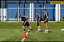 تمرینات یوونتوس-سری آ-ایتالیا-Juventus-پرتغال