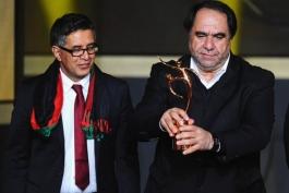 رئیس فدراسیون فوتبال افغانستان-فیفا-afganistan