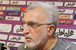حسین فرکی: پیکان برای کسب مساوی مقابل فولاد آمده بود؛ خوشحالیم که فولاد را متوقف کردیم
