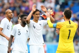 جام جهانی 2018 - فرانسه - اروگوئه