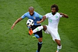جام جهانی 2018 - اروگوئه - عربستان