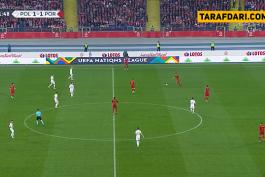 گل به خودی کمیل گلیک (لهستان 1-2 پرتغال)