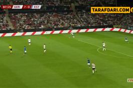 گل سانه به استونی (آلمان 8-0 استونی)