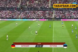 خلاصه بازی آلمان 8-0 استونی (مقدماتی یورو 2020)
