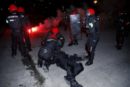 خشونت در فوتبال - سن مامس - پلیس - اتلتیک بیلبائو - اسپارتاک مسکو - لیگ اروپا