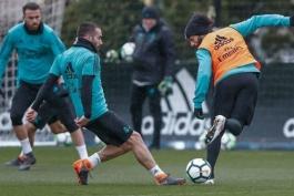 دفاع راست رئال مادرید - تمرینات رئال مادرید