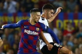 barcelona-بارسلونا-مدافع-فرانسه-لالیگا-اسپانیا