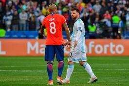 argentina-chile-آرژانتین-شیلی-هافبک-کاپیتان-کوپا آمریکا