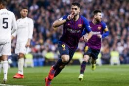 barcelona-بارسلونا-مهاجم-اروگوئه-ال کلاسیکو