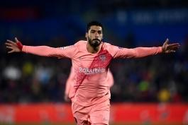 barcelona-بارسلونا-مهاجم-اروگوئه-لالیگا