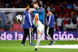 مدافع اسپانیایی بارسلونا - اسپانیا - آرژانتین