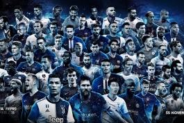 اسامی 55 نامزد حضور در تیم منتخب سال 2019 دنیا اعلام شد؛ لیگ برتر از لالیگا پیشی گرفت