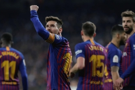 barcelona-بارسلونا-مهاجم-کاپیتان-آرژانتین-سانتیاگو برنابئو