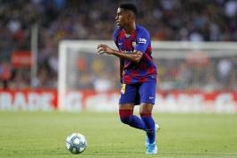 barcelona-بارسلونا-مدافع-اسپانیا-لالیگا-نیوکمپ