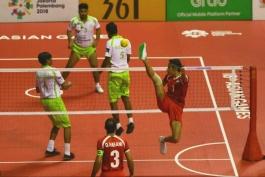سپک تاکرا- بازی های آسیایی جاکارتا-سپک تاکرا کواد