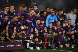 لالیگا اسپانیا-Laliga-قهرمانی بارسلونا