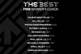د بست-مراسم بهترین های فیفا-FIFA