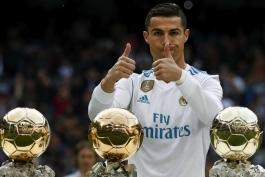 رئال مادرید- ستاره رئال مادرید- توپ طلا