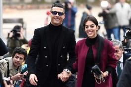 کریستیانو رونالدو به مادرید رسید تا در دادگاه اتهام مالیاتی اش شرکت کند (عکس)