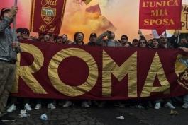 رم- هواداران رم- ایتالیا- Roma