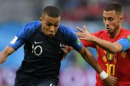 فرانسه- بلژیک- جام جهانی 2018- FIFA