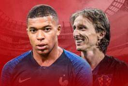کرواسی- فرانسه- فینال جام جهانی