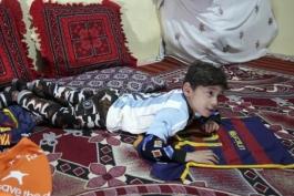 کودک افغان- لیونل مسی- بارسلونا- آرژانتین- Afghanistan
