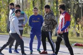 کشتی آزاد-حسن یزدانی-ایمان صادقی-عزت الله اکبری-تیم ملی کشتی آزاد