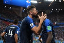 فرانسه - بلژیک - جام جهانی