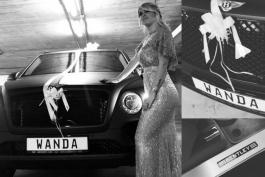 وندا نارا-مائورو ایکاردی-بنتلی-هدیه تولد-Bentley