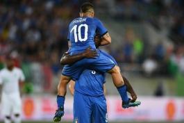 ایتالیا - بازی دوستانه - عربستان - تیم ملی ایتالیا