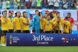 انگلیس - بلژیک - جام جهانی 2018
