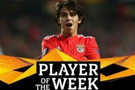 بنفیکا-لیگ اروپا-پرتغال-بهترین بازیکن هفته لیگ اروپا