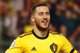 هازارد: توافق با رئال مادرید؟ در این مورد صحبتی ندارم؛ فقط روی بازی بلژیک مقابل قبرس تمرکز کردهام