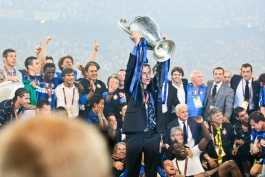 لوئیس فن خال-اینتر- ماسیمو موراتی-سه گانه-رئال مادرید-luis Van Gaal-Real madrid-inter treble-massimo moratti