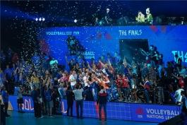 تیم ملی والیبال روسیه - تیم ملی والیبال آمریکا - لیگ ملت های والیبال