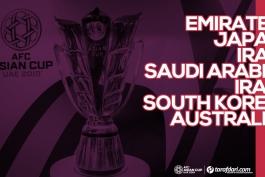 جام ملتهای آسیا 2019-ویژه جام ملتهای آسیا 2019