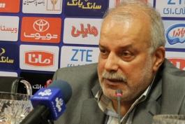 نشست خبری - رئیس هیئت فوتبال مازندران