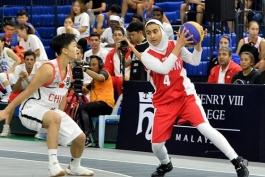 بسکتبال ایران - بسکتبال 3 نفره