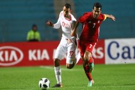تیم های ملی فوتبال ایران - دیدار دوستانه - تیم ملی تونس