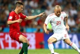 جام جهانی 2018 - تیم ملی فوتبال پرتغال- تیم ملی فوتبال اسپانیا