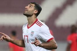 فوتبال ایران-جام ملت های آسیا-مهاجم تیم ملی فوتبال