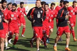فوتبال ایران-تیم پرسپولیس-تمرینات پرسپولیس
