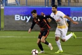 فوتبال جهان-لیگ ستارگان قطر-مهاجم تیم الغرافه