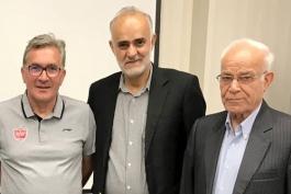 فوتبال ایران-باشگاه پرسپولیس-اعضای هیئت مدیره و سرمربی پرسپولیس